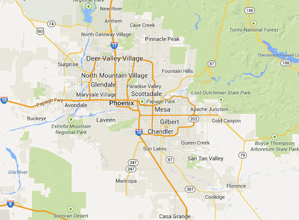 Google-Maps-Arizona